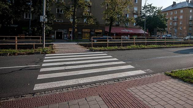 Přechod pro chodce. Ilustrační snímek.
