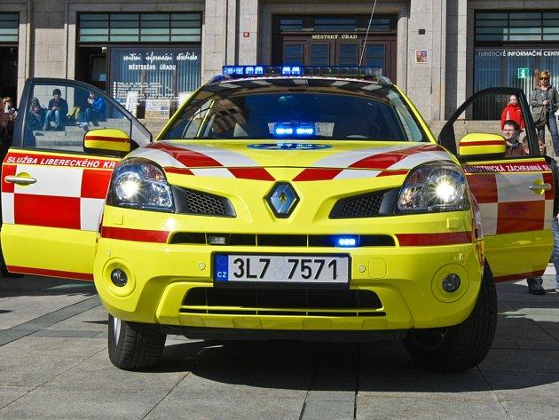 Ilustrační fotografie vozidla ZZS LK.