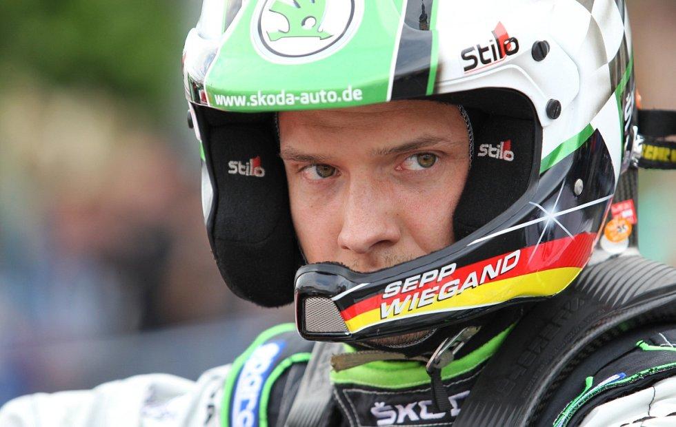 Na snímku je Sepp Wiegand z Německa.