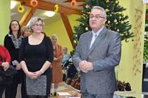 Křtu nové fotoknihy se zúčastnil Petr Tulpa.