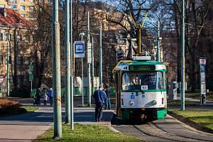 Ilustrační foto - Tramvaj Tatra T2R v Jablonci nad Nisou