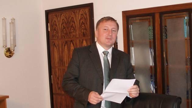 Primátor Jablonce Petr Beitl.
