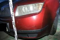 Vůz, který muž bez řidičského oprávnění řídil.
