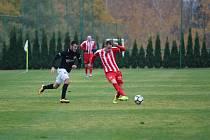 V derby divize C se na hřišti v jabloneckých Břízkách utkaly týmy Jiskry Mšena A a Velkých Hamrů A. Diváci viděli velmi pěkný fotbal, ve kterém šťastnější byli domácí (3:1), ale lepší fotbalově byli hosté.