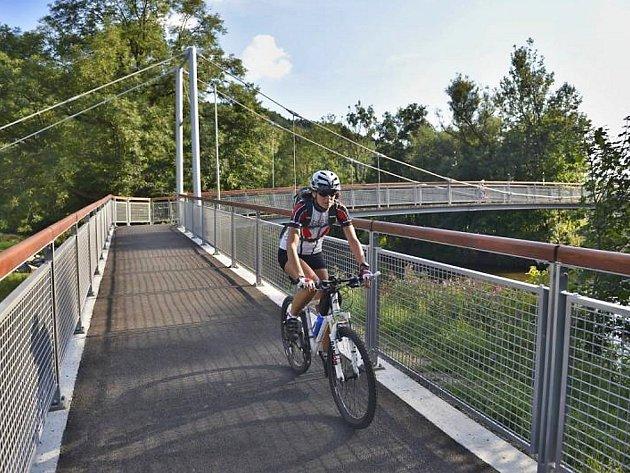 Most Greenway Jizera na Malé Skále