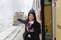 Železniční doprava. Ilustrační snímek.