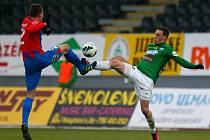 Jablonec porazil v prvním utkání čtvrtfinále Poháru České pošty Plzeň 2:1.