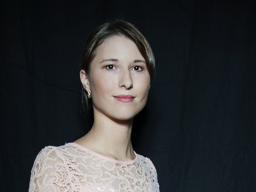 LUCIE PETERKOVÁ 16 LET. Soutěžící dívka č. 38 studuje Gymnázium U Balvanu.
