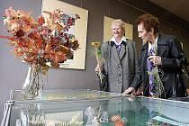 Výstava k Týdnu seniorů 2008.