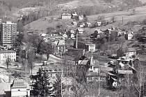 Obec Desná v Jizerských horách. Historické fotografie.