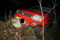 Přes dvě promile nadýchal řidič, který na Nový rok havaroval na Železnobrodsku.
