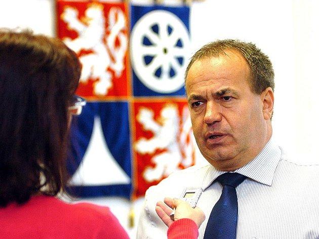 Hejtman Libereckého kraje Stanislav Eichler.