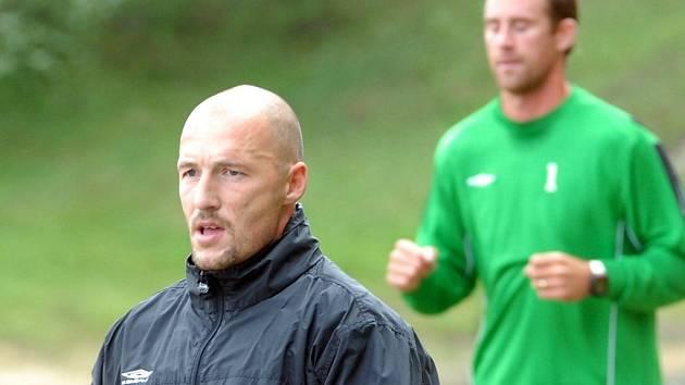 Do přípravy se zapojil také nová posila FK Jablonec 97 Luděk Zelenka.