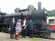 Sláva při oslavě 115. výročí ozubnicové trati.