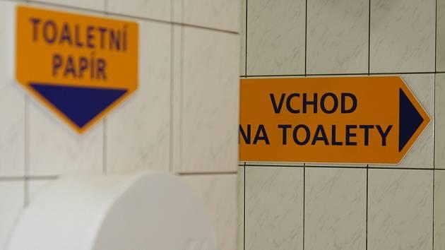 Veřejné toalety. Ilustrační snímek.