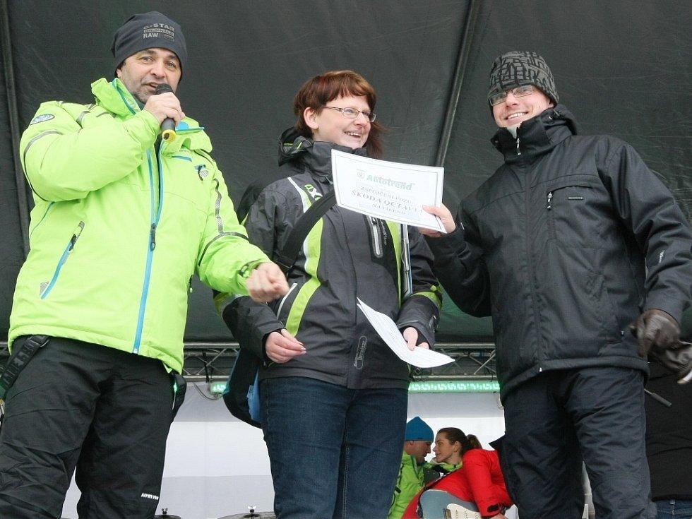 V lyžařském areálu Severák v Hraběticích v Jizerských horách se v neděli konala akce ŠKODA park. Jednu z cen vyhrál Petr Černý z Jablonce.