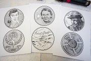 Ve středu 5. prosince se uskutečnila slavnostní ražba první ze série tří pamětních medailí s tváří Karla Gotta.