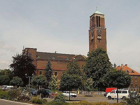 Kostel Nejsvětějšího Srdce Ježíšova v Jablonci. Ilustrační foto