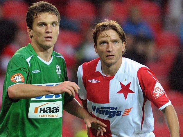 V dohrávce 6. kola 1. GL se střetli SK Slávia Praha s FK Baumit Jablonec. Domácí potvrdili dobrou formu a v utkání s šancemi na obou stranách zvítězili 2:0. David Lafata, Vadimír Šmicer.