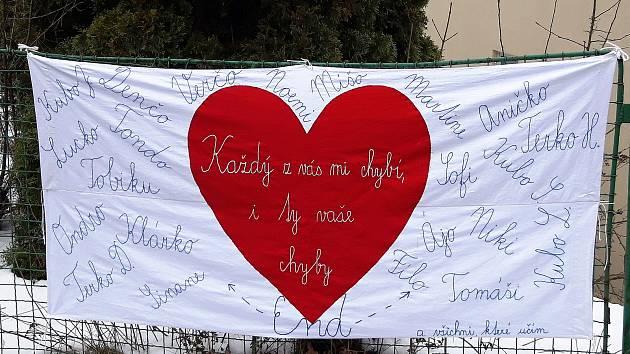 Vzkazy od učitelů v Jablonci nad Nisou.