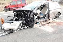 Tragická dopravní nehoda na silnici I/13 v části obce Jítrava.