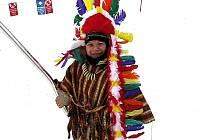 Karneval na lyžích.