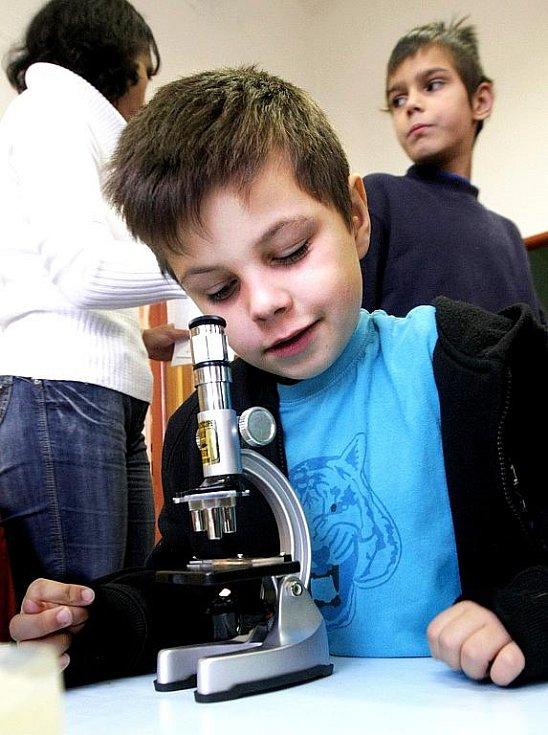 Ve středu byl poslední den, kdy si mohly děti z mateřských či základních škol vyzkoušet proces vývoje jablka od semínka až po jeho plod. Akce se konala v MŠ Montessori.