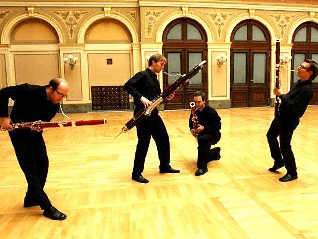 Prague Bassoon Band. Fagotový soubor.