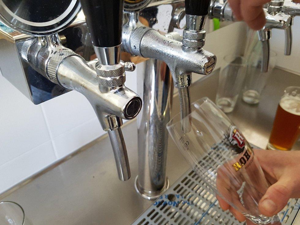 Na návštěvě v rohozeckkém pivovaru.