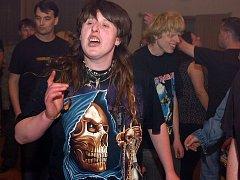 Rockový koncert. Ilustrační snímek.
