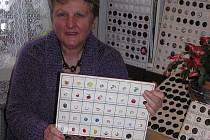 Christa Petrásková začala sbírka krabičky od zápalek