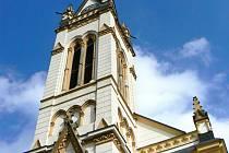 Kostel Československé církve husitské na náměstí Dr. Farského v Jablonci