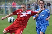 Dramatické utkání viděli diváci v Doksech, kde Mšeno uhrálo remízu 3:3 až v nastaveném čase.