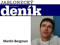 Martin Bergman, sportovní redaktor.