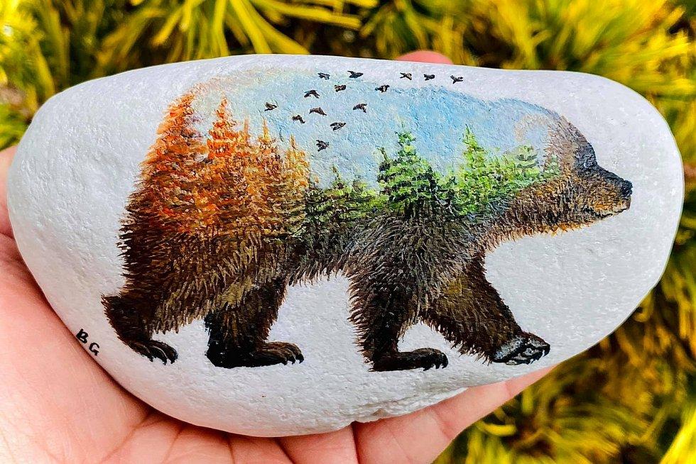Medvěd pro Biopark Štít za 2050 korun.