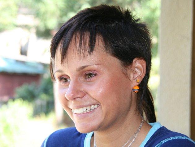 Bronislava Plešingerová, vedoucí referent dopravního hřiště