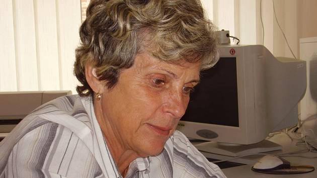 Jiřina Rybáková, starostka Skuhrova