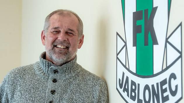 Fotbalový trenér Petr Rada budu pokračovat další sezonu v Jablonci.