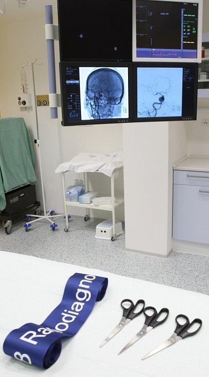 Nový přístroj v liberecké nemocnici.