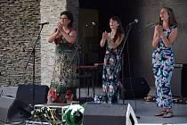 Koncert kapely Korjen  na Letní scéně Eurocentra v Jablonci nad Nisou.