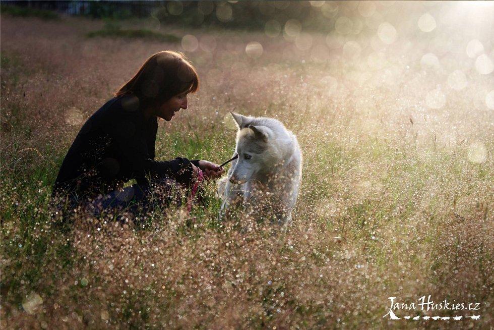 Andrea Dunová je zakladatelkou a autorkou Dornovy metody pro zvířata