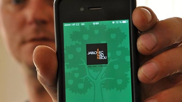 Mobilní aplikace Jablonec n. N.