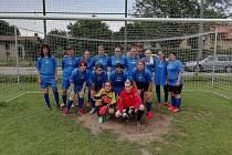 Fotbalový tým Čertic sbíral zkušenosti v dalším přátelském utkání a také ve fotbalové exhibici. Tam je dokonce čekalo překvapení.