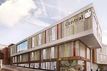 Vizualizace obchodního centra Centrum