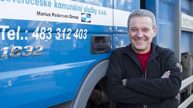 Ředitel Severočeských komunálních služeb v Jablonci Zdeněk Faistaver.