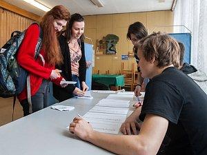 Studentské prezidentské volby na Gymnáziu Dr. Antona Randy v Jablonci