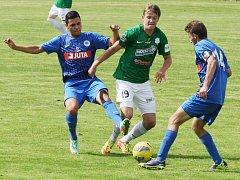 Fotbalisté juniorky Baumitu Jablonec remizovali s Libercem 2:2.