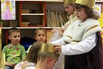 V mateřské školce na Rádle u Jablonce nad Nisou se ve čtvrtek děti předvedly svým rodičům.