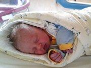 Jakub Štryncl se Tereze Pecharové v jablonecké porodnici narodil narozen 3. 12.2015 ve 12.38.