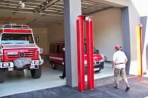 Slavnostní otevření hasičské zbrojnice, 2010.